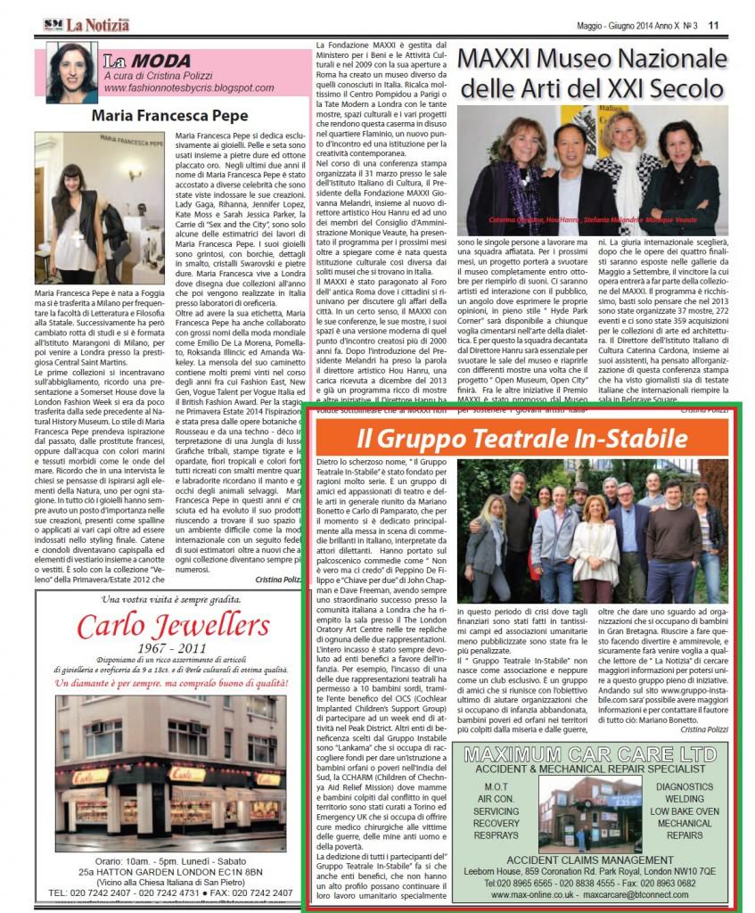 La Notizia 2014